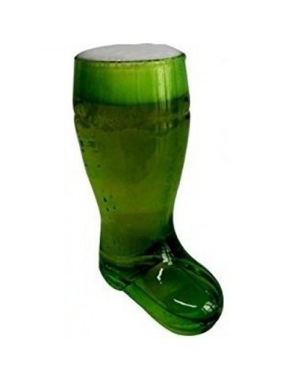 Barraid Green Beer Boot Glass