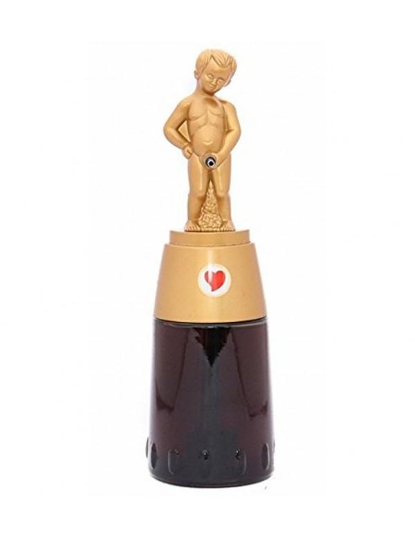 Barraid Brilliant Golden Bonny Boy Round Shape Liquor Dispenser 500 ML Capacity