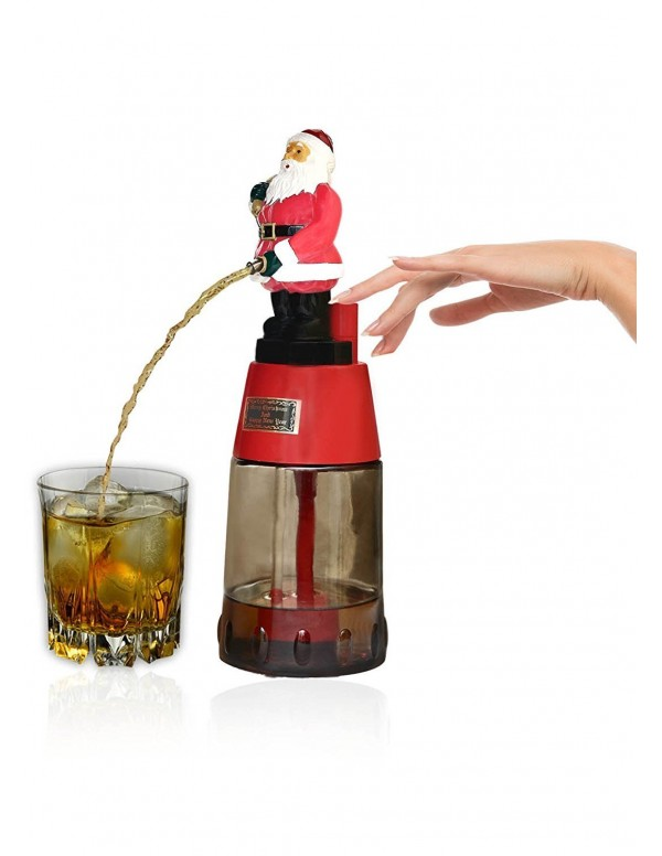 Barraid Santa Clause Round Beer Liquor Dispenser Capacity 500 ML for Christmas Gift