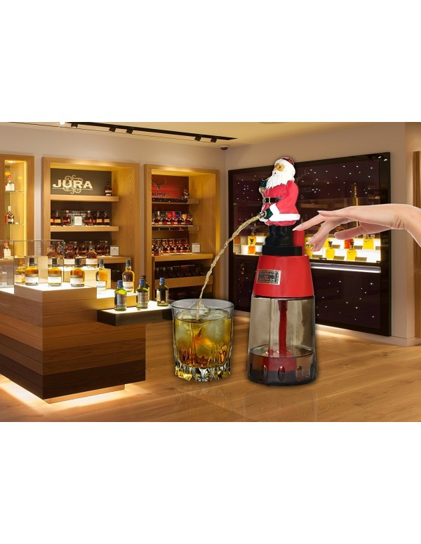 Barraid Santa Clause Round Beer Liquor Dispenser C...
