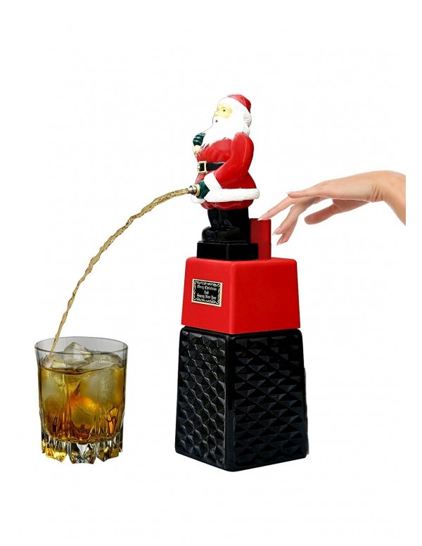 Barraid Santa Clause Square Beer Liquor Dispenser Capacity 500 ML for Christmas Gift
