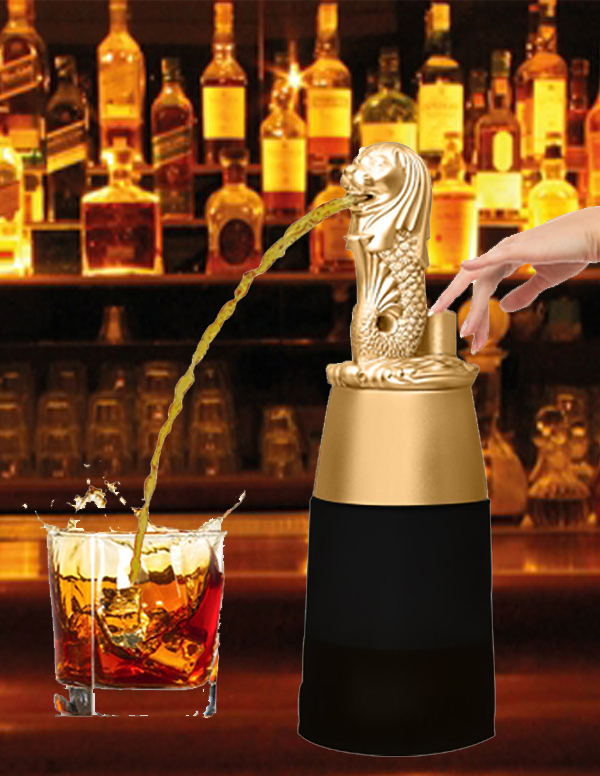 Barraid Singapore Lion Liquor Dispenser