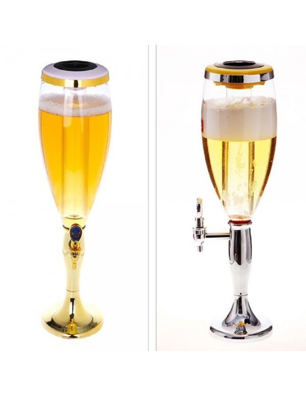 Grand Party Beer Tower/Dispenser/Decanter for Beer...