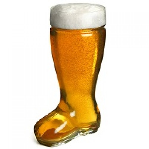 Barraid designer boot glass 1 Litre
