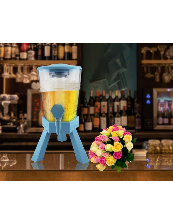 BARRAID HAEGAARDEN Grand Party Tower/Dispenser/Decanter for Beer Pubs (3000 ml/3 L)