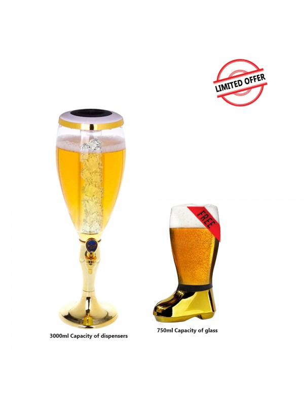 BARRAID Amazing Offer Grand Party Beer Tower/Dispe...