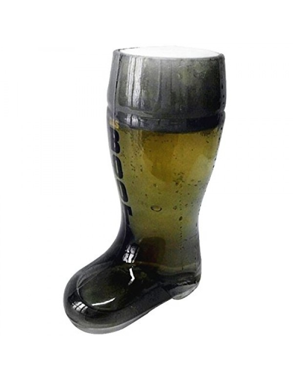 Barraid Smoke Beer Boot Glass 650 ml Capacity