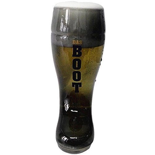 Barraid Smoke Beer Boot Glass 650 ml Cap...