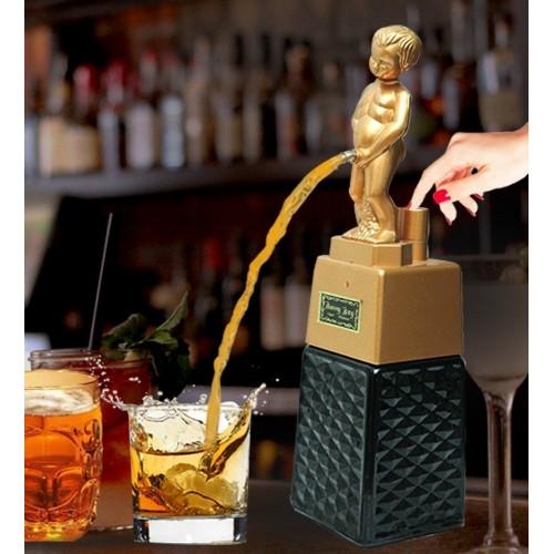 Bonny Boy Square Golden Liquor Dispenser...